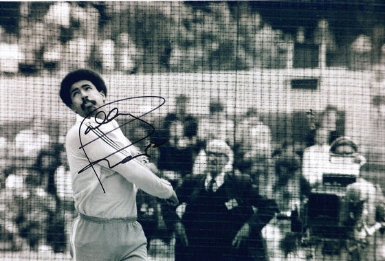 Daley Thompson Signed 12X8 Photo Double Olympic Champion AFTAL COA (D)