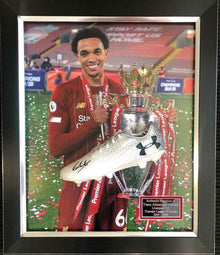 Trent Alexander-Arnold Signed & Framed Football Boot Liverpool F.C. AFTAL COA (S