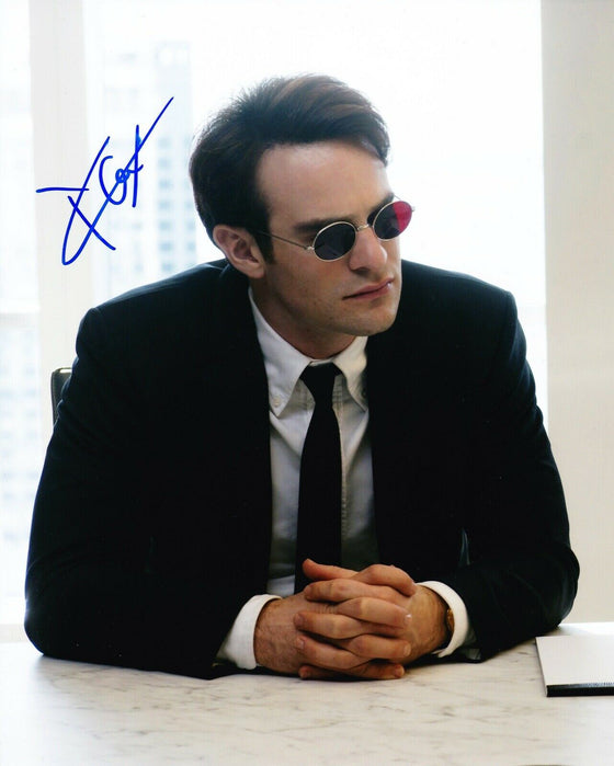 CHARLIE COX SIGNED 10X8 Photo Daredevil AFTAL COA (C)