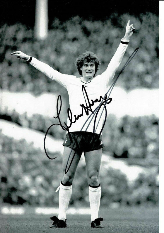 GLENN HODDLE SIGNED 12X8 Photo Genuine AUTOGRAPH Tottenham Hotspur AFTAL COA (A)