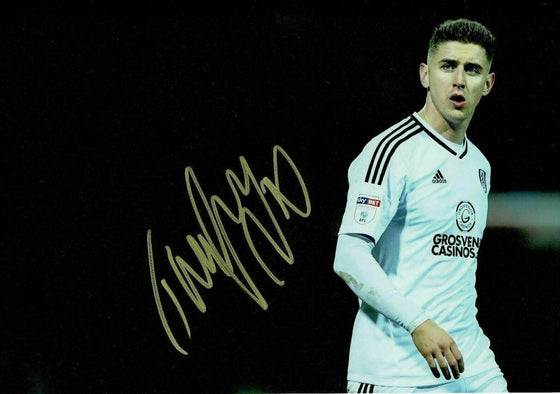 Tom Cairney Signed 12X8 Photo Fulham F.C. GENUINE Autograph AFTAL COA (1512)