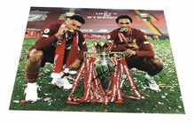 Trent Alexander-Arnold Signed 11X14 Premier League Trophy Photo AFTAL COA (A)