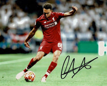 Trent Alexander-Arnold Signed 10X8 Liverpool Champions League Final AFTAL COA
