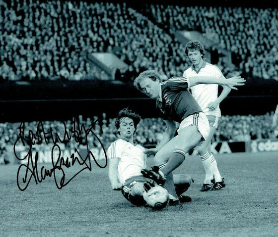 Alan Brazil Signed 12X8 Photo Ipswich Town FC Genuine Autograph AFTAL COA (A)