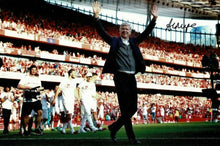 Arsene Wenger Signed 12X8 Arsenal F.C. PHOTO Autograph AFTAL COA (1523)
