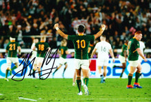 Handre Pollard Signed 12X8 Photo 2019 Rugby World Cup South Africa AFTAL COA (D)