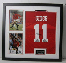 Ryan Giggs Signed & FRAMED Manchester United Jersey AFTAL COA (A)