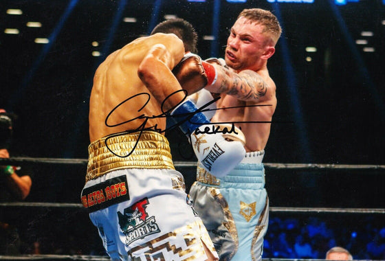 Carl Frampton SIGNED 12X8 PHOTO The Jackal BOXING LEGEND AFTAL COA (C)