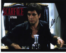 Al Pacino Genuine Hand Signed 10x8 In Person Autograph SCARFACE (5149)