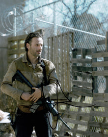 Andrew Lincoln Signed 10X8 Photo Walking Dead GENUINE SIGNATURE AFTAL COA (5523)