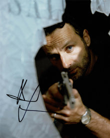 Andrew Lincoln Signed 10X8 Photo Walking Dead GENUINE SIGNATURE AFTAL COA (5524)