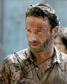 Andrew Lincoln Signed 10X8 Photo Walking Dead GENUINE SIGNATURE AFTAL COA (5533)