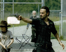 Andrew Lincoln Signed 10X8 Photo Walking Dead GENUINE SIGNATURE AFTAL COA (5554)