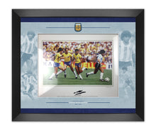 Diego Maradona Signed & Framed Photo Mount Display Argentina AFTAL COA (A)