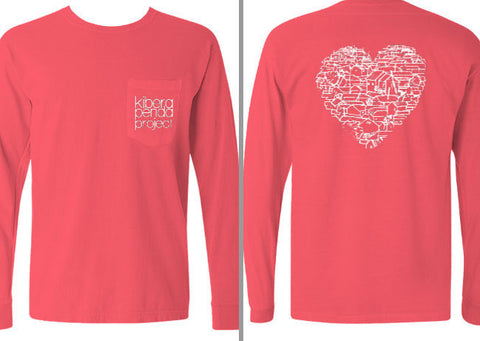 Kibera Heart Long Sleeve Tee
