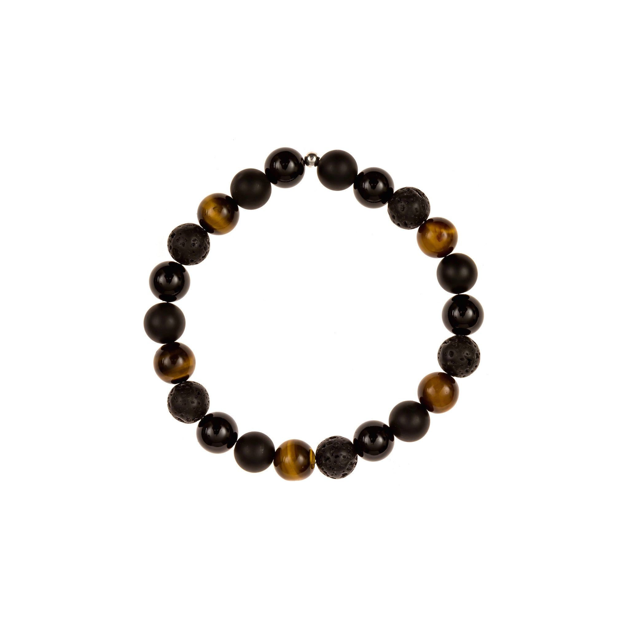 Triple Black Tiger Eye