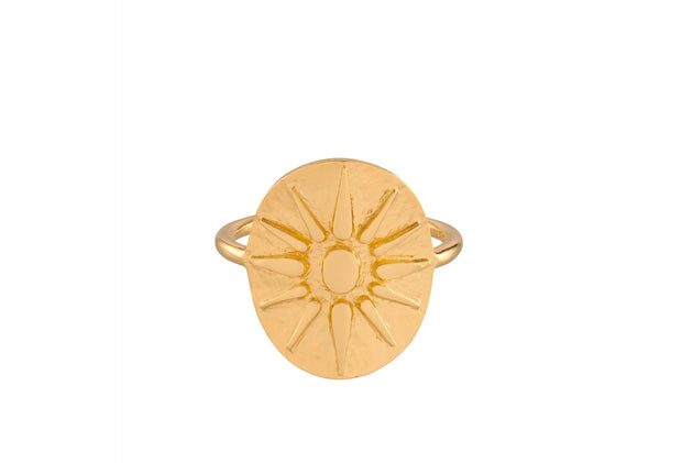 Pernille Corydon Bali ring forgyldt - Nordic Jewellery House