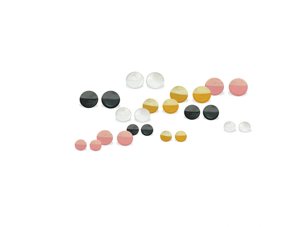 Malene Glintborg - color dot ørestikker - Nordic Jewellery House
