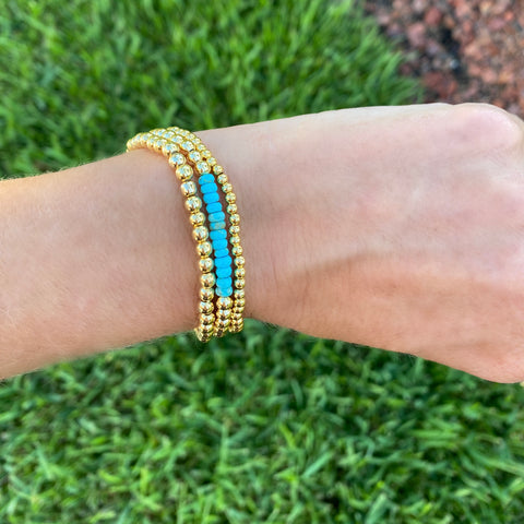 Turquoise Dream Bracelet Stack - Bettina's Collection