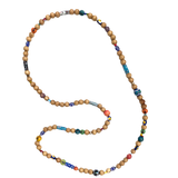 Tahitian Mixed Bead Necklace - Bettina H. Designs