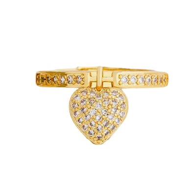 Love Charm Ring - Bettina's Collection