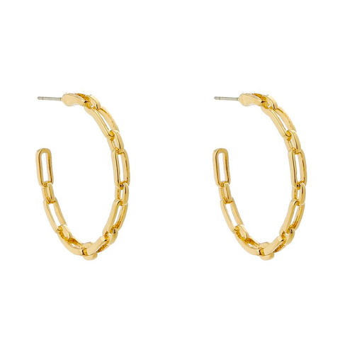 Thin and Dainty Chain Earrings