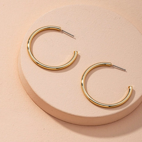 The Simple Thin Classic Hoop - Bettina's Collection