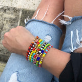 Color My World Bracelets - Bettina's Collection