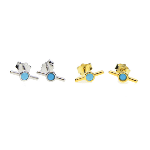 Propeller Stud Earrings - Bettina's Collection