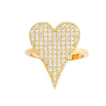 My Huge Heart Ring - Bettina's Collection