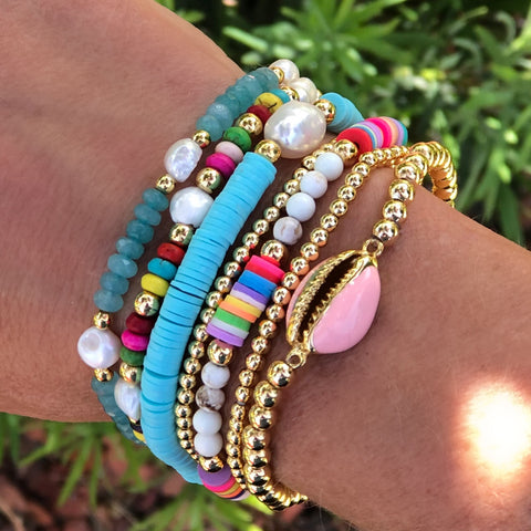 Chloe Bracelet Stack - Bettina's Collection