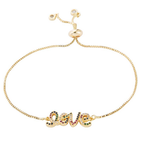 Love Rainbow Bracelet - Bettina's Collection