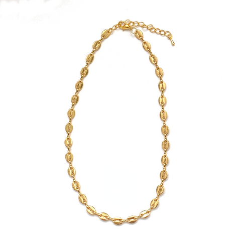 Hollow Puff Chain Necklace - Bettina's Collection