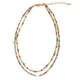 Gracie Beaded Freshwater Pearl Necklace - Bettina's Collection