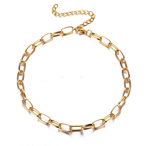 Sasha Link Necklace/Sweet & Less Dainty