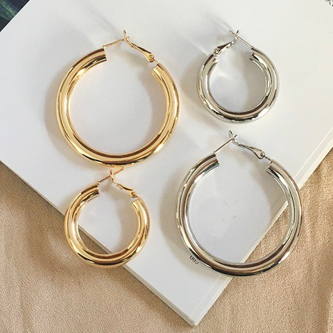 Hoop Dreams Small or Large Earrings - Bettina's Collection