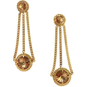 Courtney Lee Collection Gold Brittany Earrings - Bettina's Collection