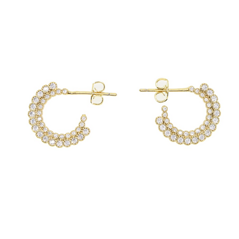 Valerie Petal Hoops - Bettina's Collection