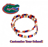 CUSTOMIZE Your College or Team Tila Bracelet - Bettina's Collection
