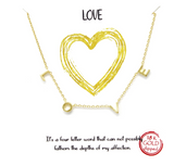 Love Far and Wide Necklace - Bettina's Collection
