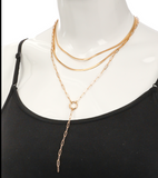 Single or Triple Dip Necklace - Bettina's Collection
