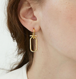 Maggie Gold Earrings - Bettina H. Designs