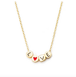 Meridian Ave. Love Charm Necklace
