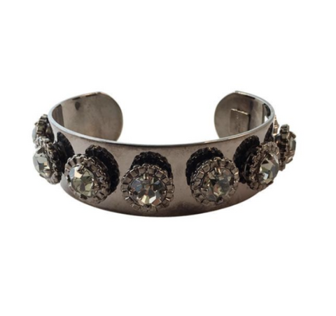 Courtney Lee Collection Gunmetal Cuff - Bettina's Collection