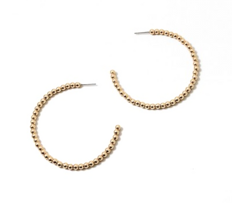 Veronica Gold or Silver Ball Earrings