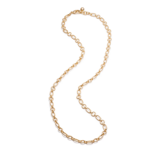 Lulu Frost PLAZA OVAL & ROUND CHAIN NECKLACE BASE - Bettina's Collection