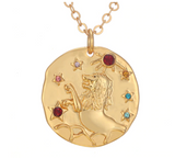 Blithe Horoscope Necklace - Bettina's Collection