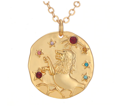 Blithe Horoscope Necklace