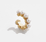 Gracie Pearl Center Orbital Cuff - Bettina's Collection