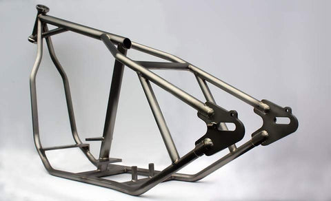 Wasted and Wounded Wishbone Chopper Frame